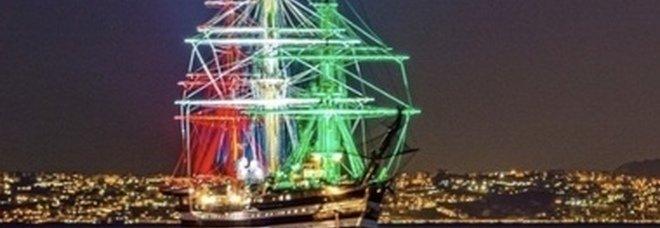 La nave scuola Amerigo Vespucci farà sosta a Napoli dal 22 al 24 luglio