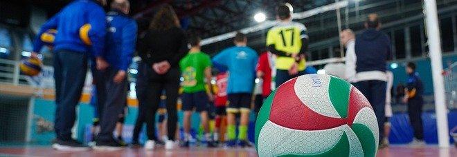 Un campo di volley
