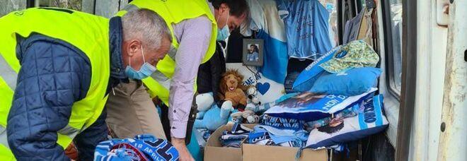 Maradona, il flop del museo a Napoli: ricordi e cimeli restano negli scatoloni