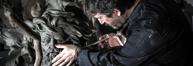 Al Pan si inaugura la nuova scultura di Domenico Sepe