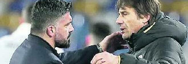 Napoli-Inter è Gattuso vs Conte: la sfida infinita dei tecnici del Sud