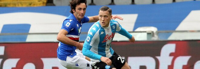 Napoli-Inter, Zielinski recupera: Osimhen verso la panchina