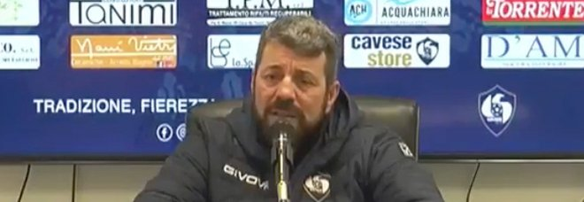 Cavese, rientri importanti a Caserta; Campilongo: «Occorre dare il 120%»