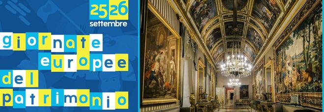 Palazzo Reale di Napoli, ecco il programma per le giornate europee del patrimonio nel weekend