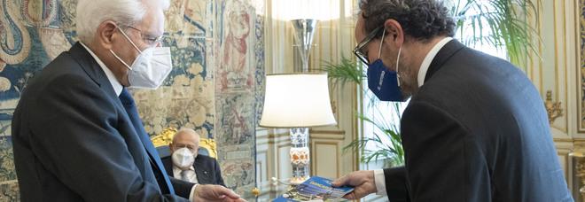 «Il Mattino» dal presidente Mattarella, in dono il libro su Giancarlo Siani