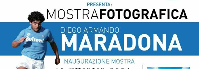 Pescara celebra Maradona con una mostra fotografica