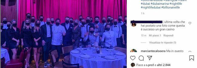 Flavio Briatore riapre il Billionaire di Dubai: «In bocca al lupo a tutto il mio staff». L'emergenza Covid non blocca l'imprenditore