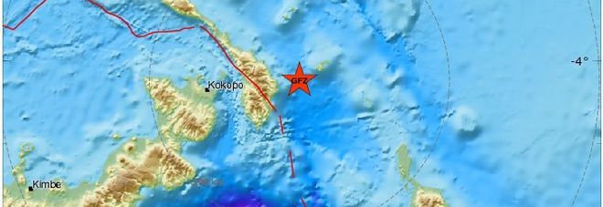 Terremoto, tremenda scossa in Papua Nuova Guinea: magnitudo 6.8