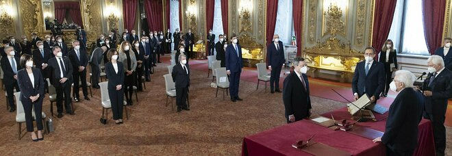Draghi, il primo appello è per l'Italia: «Mettiamola in sicurezza»