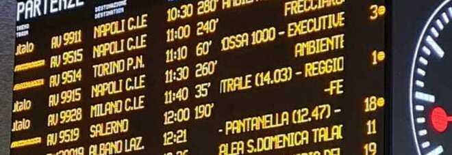 Treni, ritardi fino a due ore: doppio guasto a Caserta e Milano
