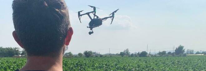 Terra dei fuochi, controlli con i droni a camera termica a Marigliano: multe e denunce