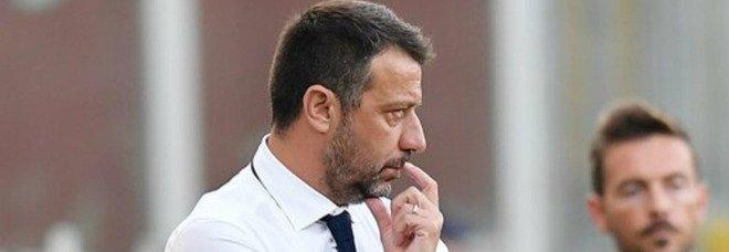 Sampdoria, la difesa di D'Aversa: «Ko troppo pesante nei numeri»