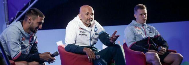 Il Napoli a Dimaro, Spalletti ai tifosi: «Basta pensare al match col Verona»