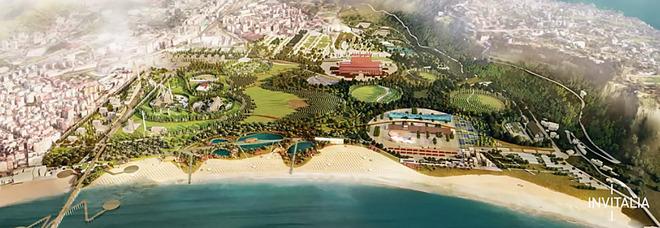 Il futuro di Bagnoli: progetto con 3 parchi vince il concorso internazionale di idee