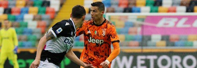 La Juve espugna la Dacia Arena: sblocca Molina al 10'. La doppietta di Ronaldo ribalta il match