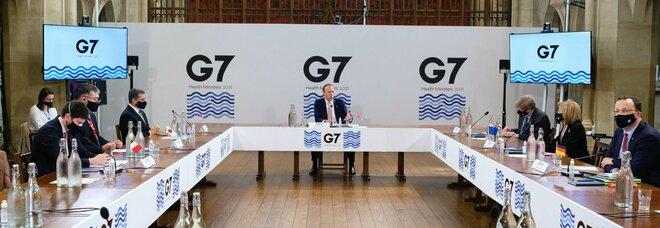 I ministri delle Finanze al G7 a Londra