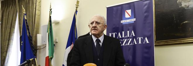 Autonomia, l'allarme di De Luca: «Rischio disgregazione nazionale»
