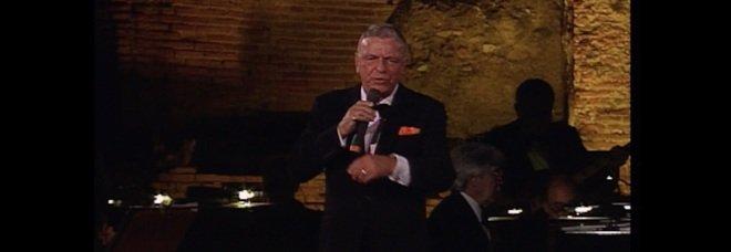 Frank Sinatra a Pompei, 30 anni dopo: un docufilm con le immagini dell'ultimo concerto in Italia