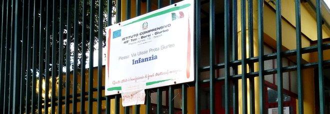 Bomba d'acqua su Napoli, scuola chiusa per infiltrazioni dopo i lavori fatti in estate
