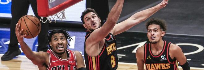 Gallinari Atlanta Hawks vs Chicago Bulls