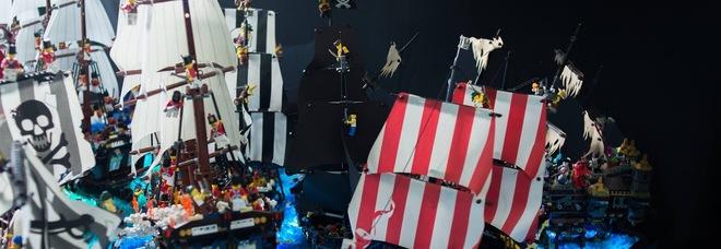 Galeoni Auto Depoca E Star Wars Il Fascino Dei Lego In Mostra A