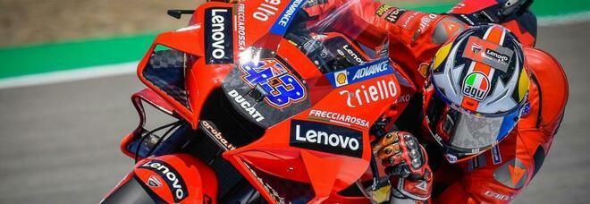 Jack Miller sulla Ducati a Jerez