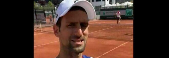 Djokovic, dal Roland Garros i complimenti all'Mvp dell'Nba Nikola Jokic