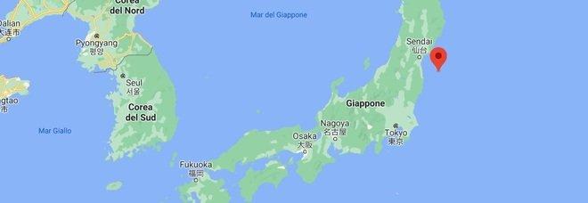 Terremoto in Giappone di 7.1 non lontano da Fukushima: rischio tsunami