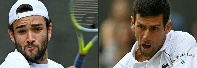 Wimbledon, Berrettini sfida Djokovic: diritto e servizio, oggi può farcela