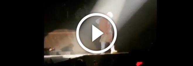 Il video della caduta