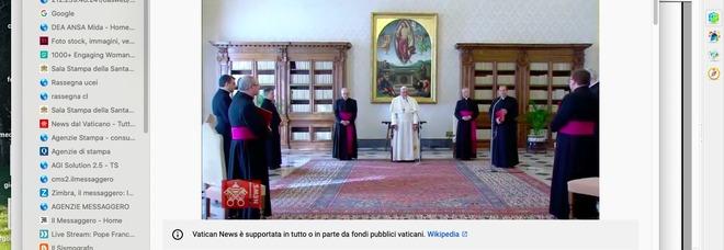 Papa Francesco: non vorrei che il coronavirus ci facesse dimenticare i migranti siriani