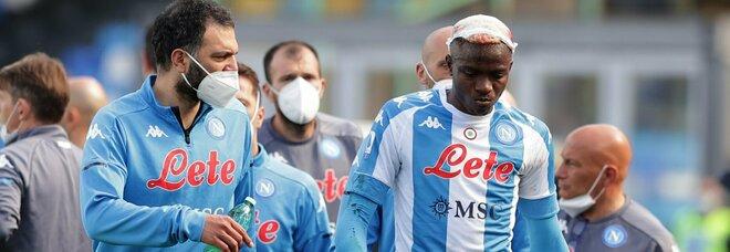 Napoli-Cagliari, la chiave tattica è l'uscita per infortunio di Osimhen