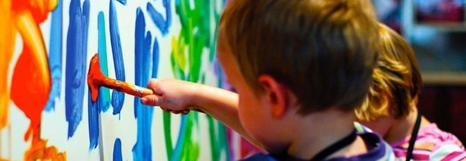 Attività di laboratorio per bambini programmate dai centri estivi