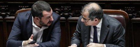 Banche, Salvini incalza Tria: «Firmi decreti o ci pensiamo noi»