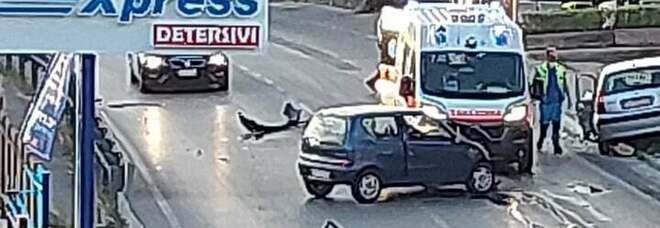 Frontale all'alba nel Napoletano: due feriti e uno è in gravi condizioni