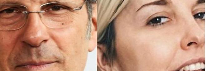 Fabrizio Frizzi e Nadia Toffa