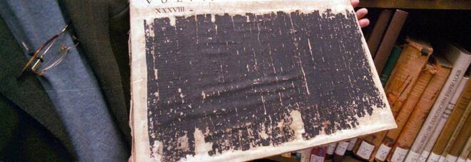 Il mistero dei papiri di Ercolano: via Al progetto per svelarne l'enigma