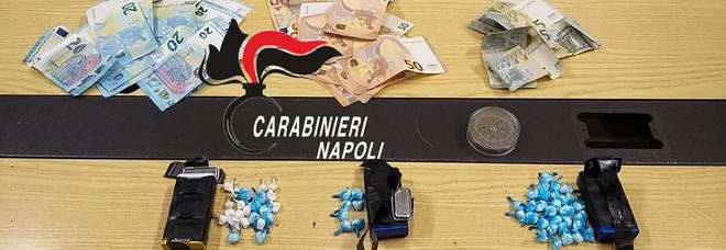 In auto con il carico di cocaina, uomo e donna arrestati ad Afragola