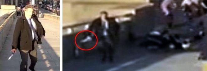 Londra, l'eroe misterioso di London Bridge che ha disarmato l'aggressore armato di coltello