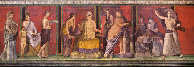 Scavi di Pompei, dal 19 luglio riaprono la Villa dei Misteri e il Lupanare