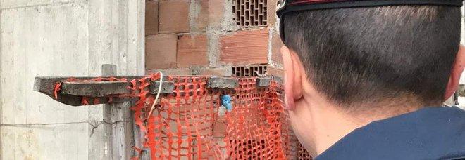 Blitz nel cantiere edile col bonus 110%: sicurezza zero, scattano le denunce