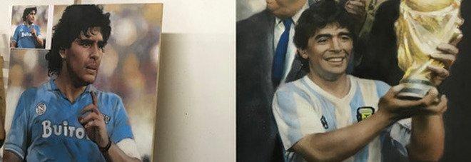 «Dai sogni da bambino ai trionfi, la mostra dedicata a Maradona»