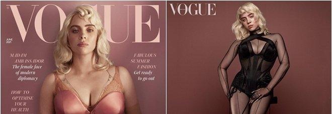 Billie Eilish «mai vista» sulla copertina di Vogue: «Faccio quello che mi pare»