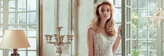 8ea1c2ade7e9 TuttoSposi inaugura con l abito più bello del mondo (e con Raoul ...