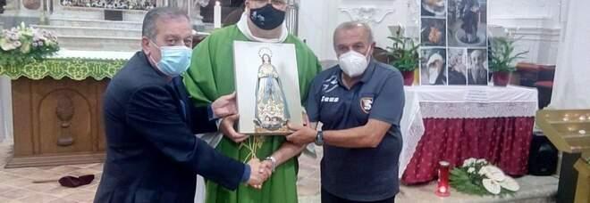 La Salernitana «benedetta» nel ritiro appena iniziato a Buccino