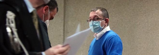 Giuseppe Di Martino, architetto, sotto processo per aver ucciso il padre Giovanni (foto Newpress)