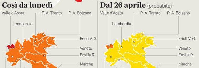 Covid, le riaperture in zona gialla: dal 26 aprile a cena fuori e via libera a teatri, cinema e calcetto