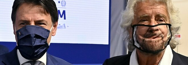 Grillo-Conte, si lavora all'accordo anti-scissione e alla pax sulla Cartabia. Ma un partito dell'ex premier (per i sondaggi) batterebbe M5S