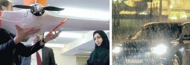 Dubai usa i droni per provocare la pioggia anti-afa, ma il temporale crea il caos