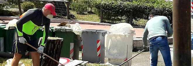 Degrado a Napoli, ripulita la targa commemorativa per Francesco Estatico